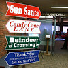 Wednesday was the first day to view the Sun Santa baskets at Lowell General Hospital. Some cute signs that point you in the right direction greet you at the door to the auditorium to view the baskets. SUN/JOHN LOVE