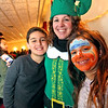In line for Mr & Mrs Santa Claus is William Gabriel 9, his mom, Jamie Gabriel (Enterprise Bank/ Human Resorce Dept) and her daughter Olivia Gabriel 7, all from Salem,NH, at the Enterprise Bank holiday celebration. SUN/ David H. Brow