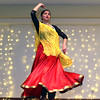 Indian Dancer, Himanshi Patel, at the Enterprise Bank's 3nd Annual International Holiday Celebration  at Holy Ghost Society in Lowell. SUN/ David H. Brow