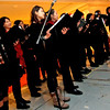 The Cambridge Chinese Choral Society preforms Chinese Songs at the Enterprise Bank's 3nd Annual International Holiday Celebration. SUN/ David H. Brow