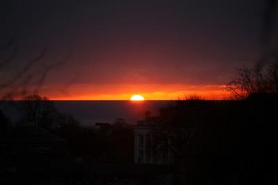 Paignton sunrise 01/12/2013