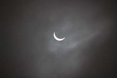 Partial eclipse over Paignton (3)
