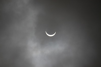 Partial eclipse over Paignton (2)