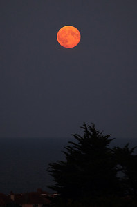 Full moon over Torbay