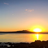 Early morning late  summer sunrise over Rangitoto