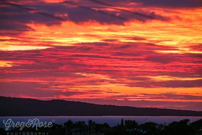 Sunrise , sunset