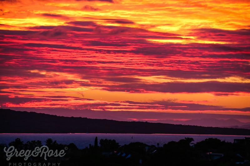 Coloured Morning Sky