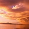 Cloud delight over Rangitoto