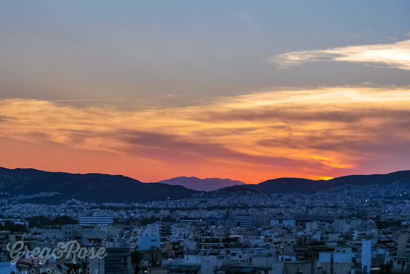 Athen's Sunset