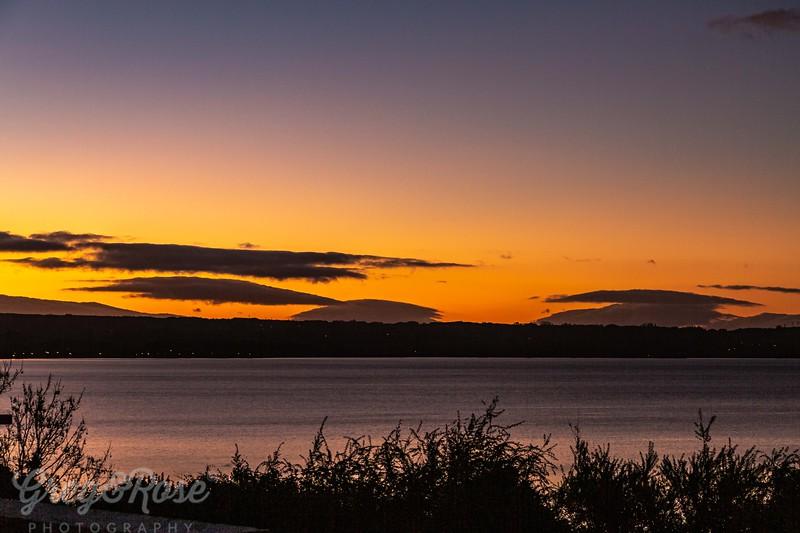Lake Rotorua Sunset