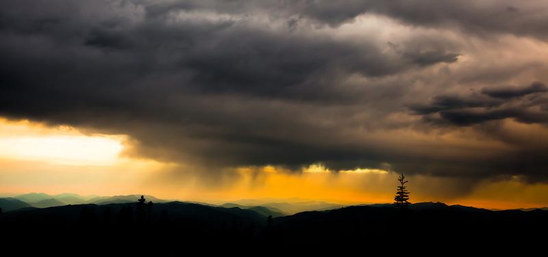 Sunrise at Mt Shasta, CA