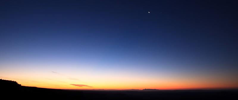 A simple Sunrise on Muley Point, Utah.