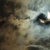 Partial Eclipse through Clouds