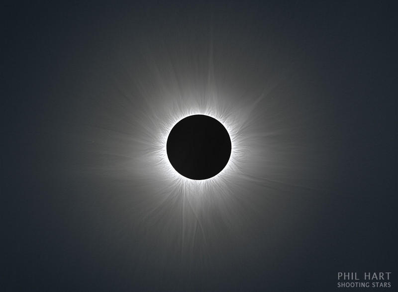 Solar Corona during 14th November 2012 Total Eclipse