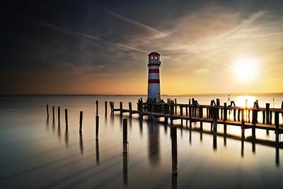 Leuchtturm in Podersdorf