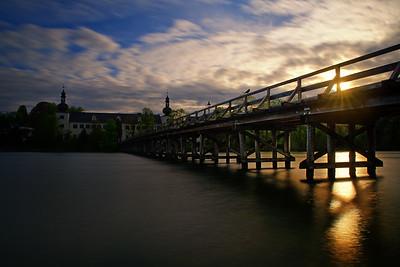 Bird on Bridge - Gmunden