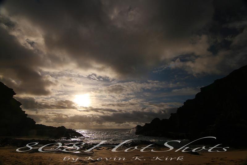 Cockroach Cove sunrise, also know as Eternity Beach