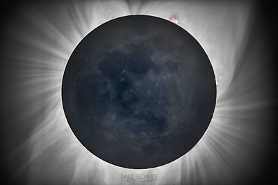 Totality and Earthshine HDR
