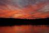 Pleasant Sunset 3.  Captured at Point Pleasant, Ohio, December 2008.