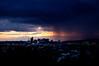 """Rain Coming Through""    Sunset."