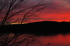 Pleasant Sunset 6.  Captured at Point Pleasant, Ohio, December 2008.