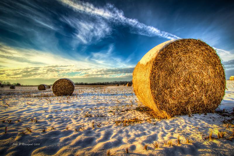 Hay Rolls near Granville OH