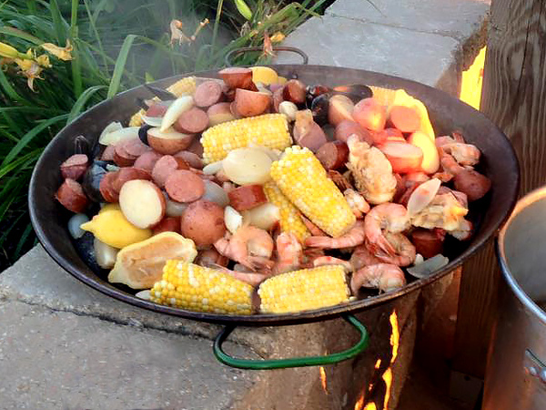 4-corn used in clambake