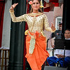 Angkor Dance Troupe (traditional Cambodian dance) is preformed at the Boarding House Park on a rainy Sunday afternoon. SUN/Caley McGuane