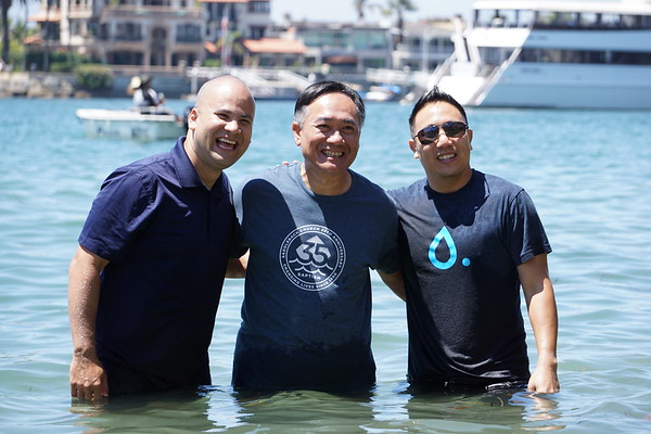 Saturday 08/13/16 Corona Del Mar Beach Baptism