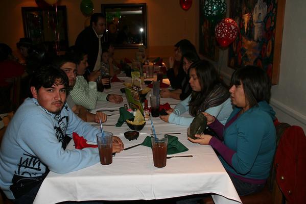 Banquete Navideño  de Maestros(as) 2008