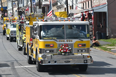 Firefighter Convention Parade
