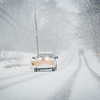 Snow plows try to keep up with the heavy snowfall on Sunday afternoon in Nashua. SUN/Caley McGuane