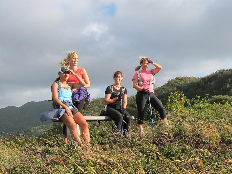 Kim, Isla, Mandy, and Sandy.