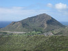 The back side of Koko Crater from the Koolau summit