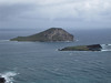 Rabit Island and Turtle Island off the beach at the eastern end of Oahu