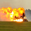 Stunt flying with pyrotechnics!!