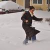 Saint Louis blizzard, January, 2014
