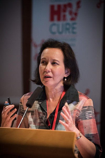 9th IAS Conference on HIV Science (IAS 2017) Paris, France. Copyright: Marcus Rose/IAS  Image Shows: IAS HIV Cure & Cancer Forum. Session 6: Clinical Trial Design and Participation.  Jinatanat Ananworanich, US  Military HIV Research Program,  United States.