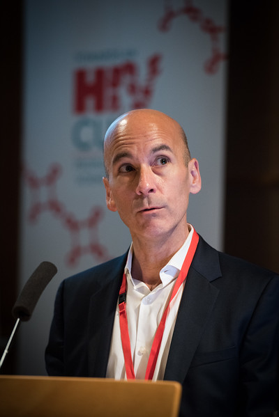 9th IAS Conference on HIV Science (IAS 2017) Paris, France. Copyright: Marcus Rose/IAS  Image Shows: IAS HIV Cure & Cancer Forum. Session 6: Clinical Trial Design and Participation.  Thomas Uldrick, Center for Cancer Research, NCI, United States