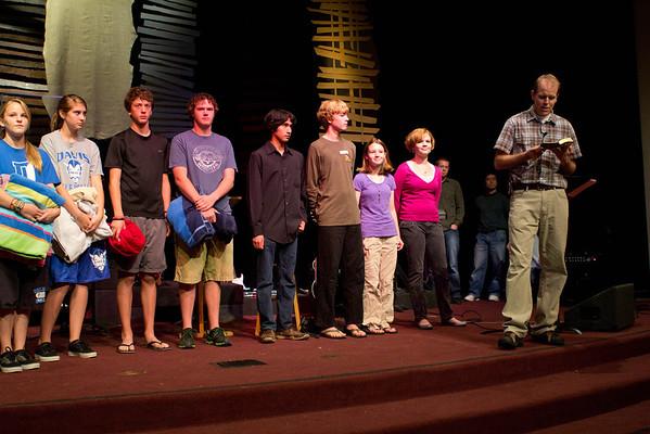 2011.11.13 Youth Baptisms