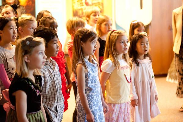 2012.11.04 Kids' Choir and Sunday Service