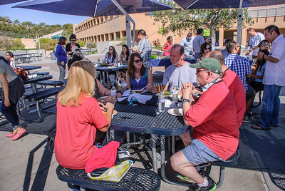 Saddleback Irvine Sunday Worship - Men and Women Connection Bible Study BBQ - photo by Allen Siu