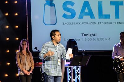 Saddleback Irvine South Sunday worship  - photo by Allen Siu 2015-11-08