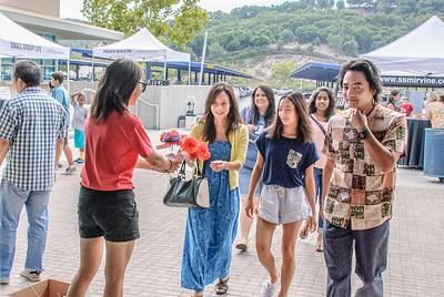 Saddleback Irvine Sunday Worship - Women Ministry Luau - photo by Allen Siu
