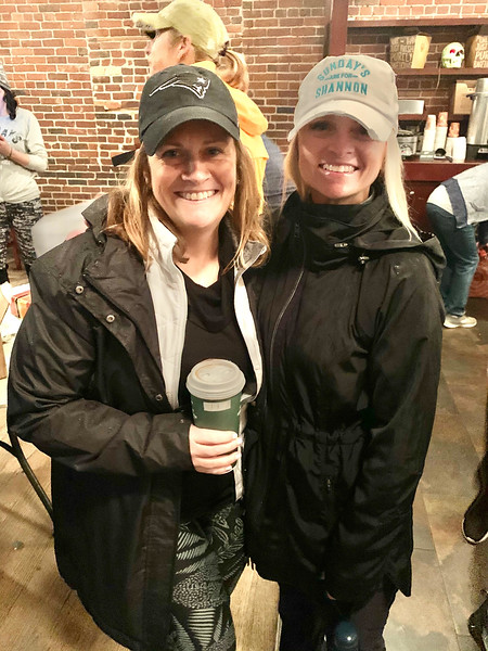 Amy Green of Lowell and Melissa Duffy of Chelmsford