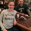 Jackie Beaudet of Nashua and Smokehouse Tavern owner Chad D'Arrigo of Billerica