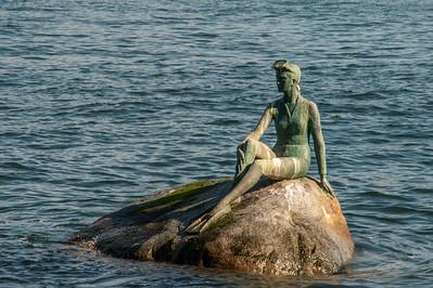 Girl in a Wetsuit by Elek Imredy