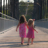 Sisters on Faust Bridge.