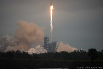 SpaceX CRS-10 rocket launch from the Kennedy Space Center, February 19, 2017