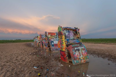 Cadillac ranch near Amarillo, TX